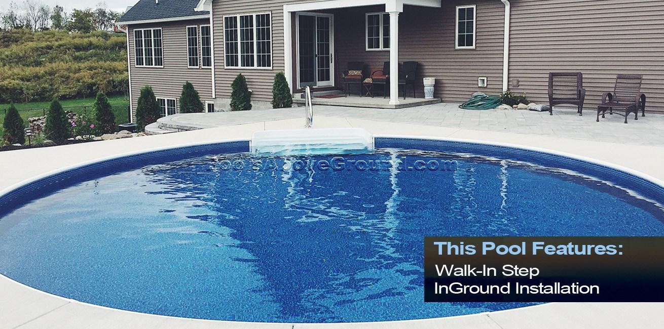 Optimum Semi Inground Pools